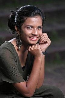 Sreya Jayadeep Indian singer