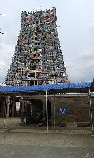 Srivilliputhur Andal temple - Image: Srivilliputhur 4