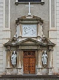 St.Lambrecht Stiftskirche Portal.jpg