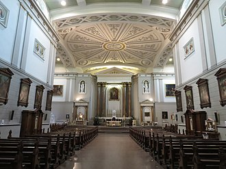 St Andrew's Church, Westland Row, Dublin - Image: St. Andrew's Church Dublin interior 2018a