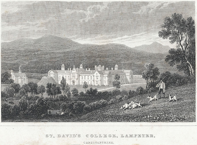 File:St. David's College, Lampeter, Cardiganshire.jpeg
