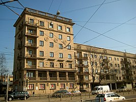 "St. Petersburg. Lesnoy prospekt, 61. Residential complex ""The house of specialists"". Residential housing 1.JPG"