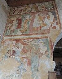St Amand Longpre Eglise Peintures murales.jpg