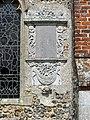 St Andrew, Bacton, Norfolk - Exterior wall monument - geograph.org.uk - 317145.jpg