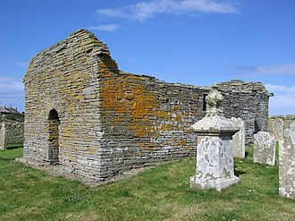 Wyre, Orkney - St Mary's Chapel