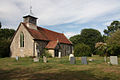 St Mary's Church, Ovington, Essex Geograph-1970703-by-Bob-Jones.jpg