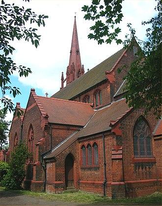 J. A. Chatwin - Image: St Mary & St Ambrose Edgbaston
