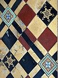St Michael's church - Victorian floor tiles - geograph.org.uk - 1300941.jpg
