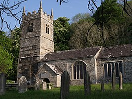 St Peter's church, Lewtrenchard - geograph.org.uk - 426881.jpg