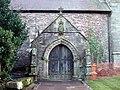 St Peter's church porch - geograph.org.uk - 1759094.jpg