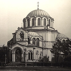 Neo-Byzantine architecture in the Russian Empire - Church of Dmitry Solunsky in Saint Petersburg (1861–1866) by Roman Kuzmin – an earliest example of the style