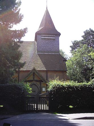 Surrey Heath - St Saviour's Church, Valley End, Windlesham