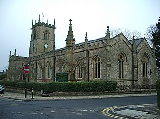 Lees, Greater Manchester - St Thomas the Apostle church