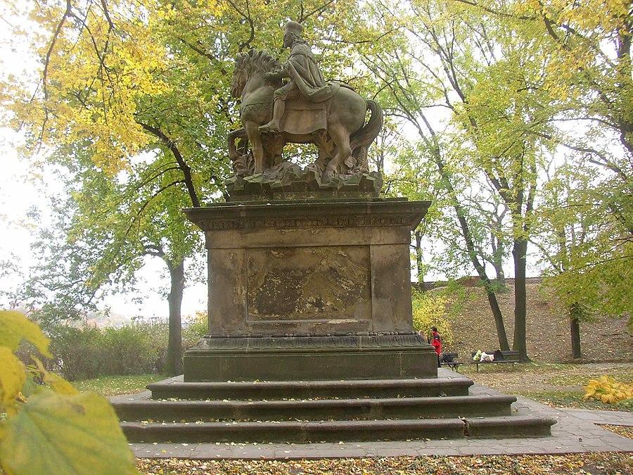 Statue of Saint Wenceslas (Bendl)