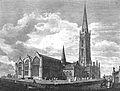 St Wulfram's Church, Grantham, Lincolnshire, England pre 1806.jpg
