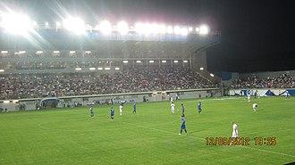 Stadion Metalac - Image: Stadion FK Metalac 3