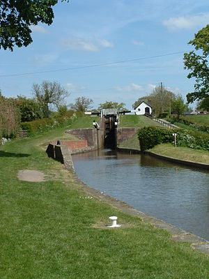Montgomery Canal - Frankton Staircase Lock