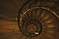 Stairs in the Arc de Triomphe, 2009-1.jpg