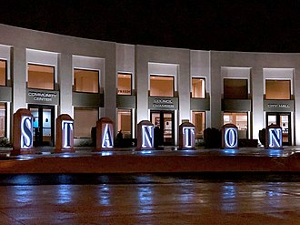 Stanton, California - Stanton City Hall