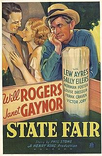 <i>State Fair</i> (1933 film) 1933 film by Henry King