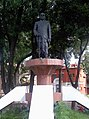 Statue of Dadasaheb (Marotrao) Kannamwar at Vidhan Bhavan, Nagpur - panoramio.jpg