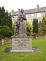 Statue of Jean Armour, wife of Robert Burns, in Dumfries - geograph.org.uk - 1027124.jpg