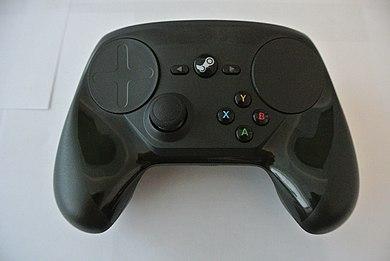 Вид прототипа Steam Controller