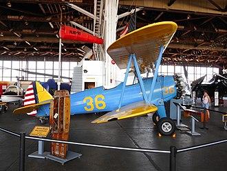 Naval Air Station Wildwood Aviation Museum - Stearman