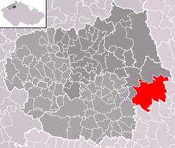 Location of Štětí