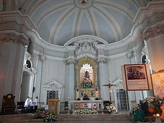 Metropolitan Cathedral of San Fernando - Interior and main altar of the Metropolitan Cathedral of San Fernando.