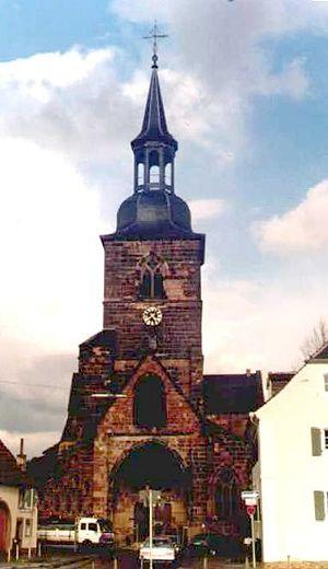 Philip IV, Count of Nassau-Weilburg -  Evangelical Church of St. Arnual