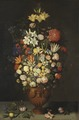 Still Life with a Vase of Flowers (Ambrosius Bosschaert d.ä.) - Nationalmuseum - 17376.tif