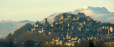 Stirling, the county town