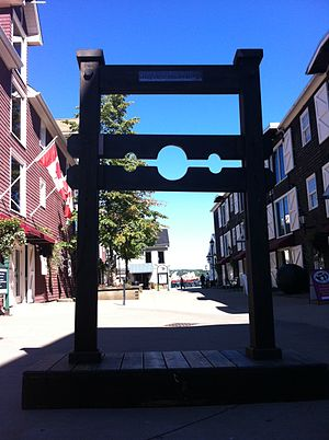 Historic Properties (Halifax) - Pillory, Historic Properties