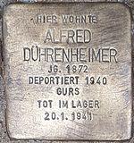 Stolperstein Alfred Dührenheimer Neidenstein.jpg