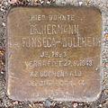 Stolperstein Bahrenfelder Marktplatz 19 (Hermann da Fonseca-Wollheim) in Hamburg-Bahrenfeld.JPG