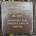 Stolperstein Bocholt Hemdener Weg 11 Franz Löwenstein.jpg