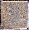 Stolperstein Duisburger Str 1 (Wilmd) Margarete Hoffmann.jpg