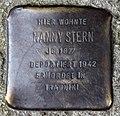 Stolperstein Eichendorffstr 18 (Mitte) Nanny Stern.jpg