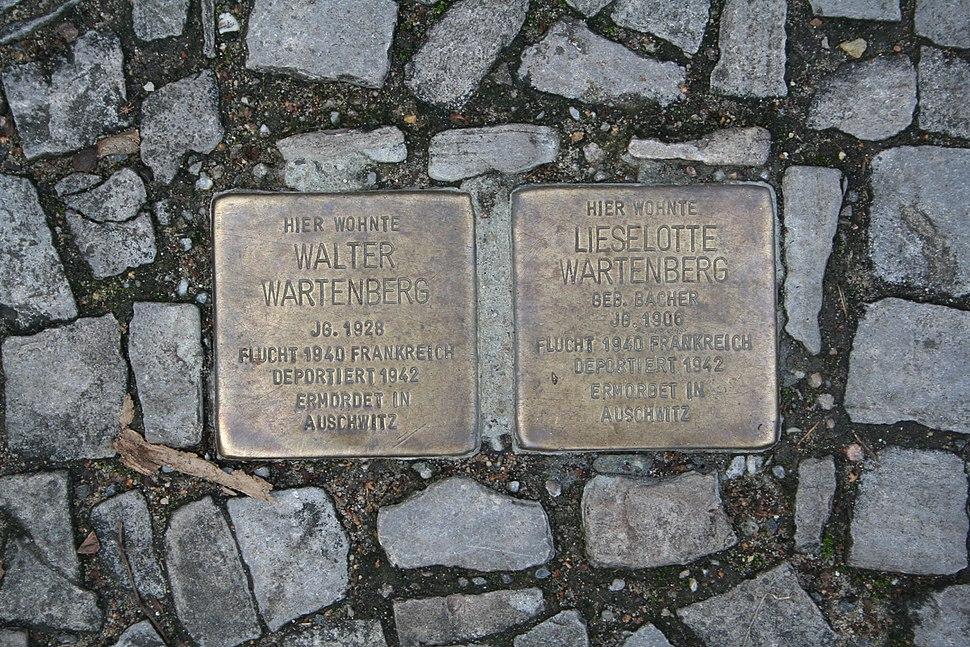 Stolperstein Halle Wartenberg