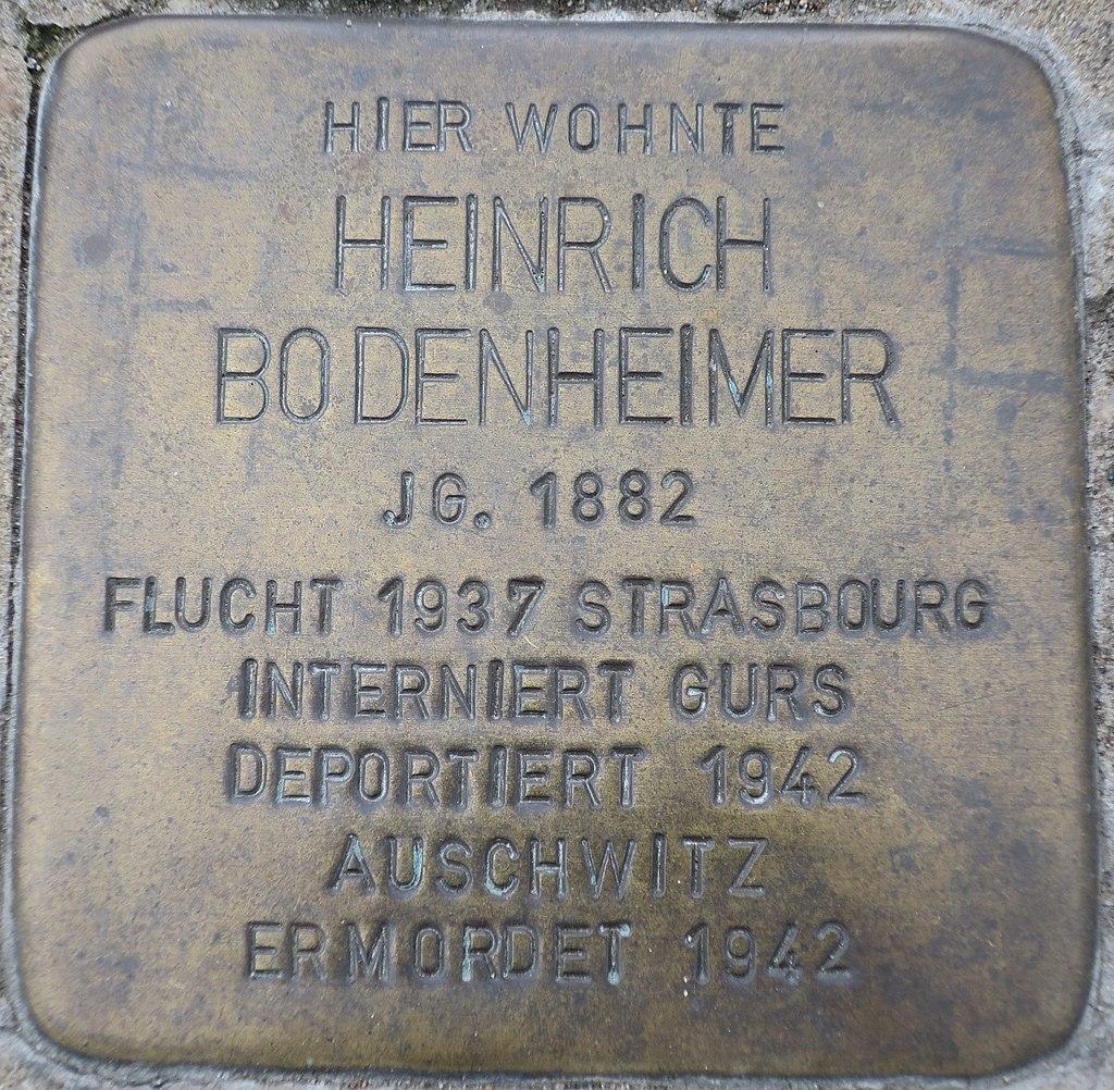Stolperstein Heinrich Bodenheimer Kehl.jpg