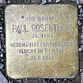 Stolperstein Konstanzer Str 55 (Wilmd) Paul Rosenthal.jpg