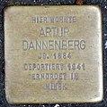 Stolperstein Remscheid Alte Bismarckstraße 16 Artur Dannenberg.jpg
