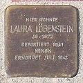 Stolperstein Verden - Laura Löbenstein (1872) - 2014.jpg