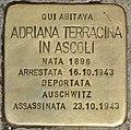 Stolperstein für Adriana Terracina in Ascoli (Rom).jpg