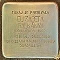 Stolperstein für Elizabeta Balkanyi (Lendava).jpg