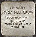 Stolperstein für Marta Roubickova.jpg