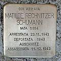 Stolperstein für Matilde Rechnitzer Schumann in Gorizia.jpg