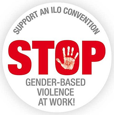International Trade Union Confederation (2015-2017). Stop a la violence sexiste au travail.jpg