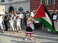 Stop Bombing Gaza (18 July 2014, Ljubljana, Slovenia) 13.JPG